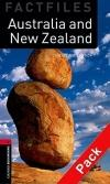 Australia and New Zealand - Obw Factfiles 3 Book+Cd * 2E
