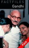 Gandhi - Obw Factfiles Level 4 Book+Cd * 3E