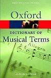 Oxford Concise Dictionary of Musical Terms