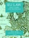 Eu Law (Text, Cases and Materials) 6Th Ed. * (2015)