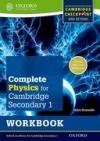 Complete Physics For Cambridge Secondary 1. Workbook
