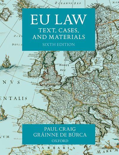 EU LAW 6. kiadás