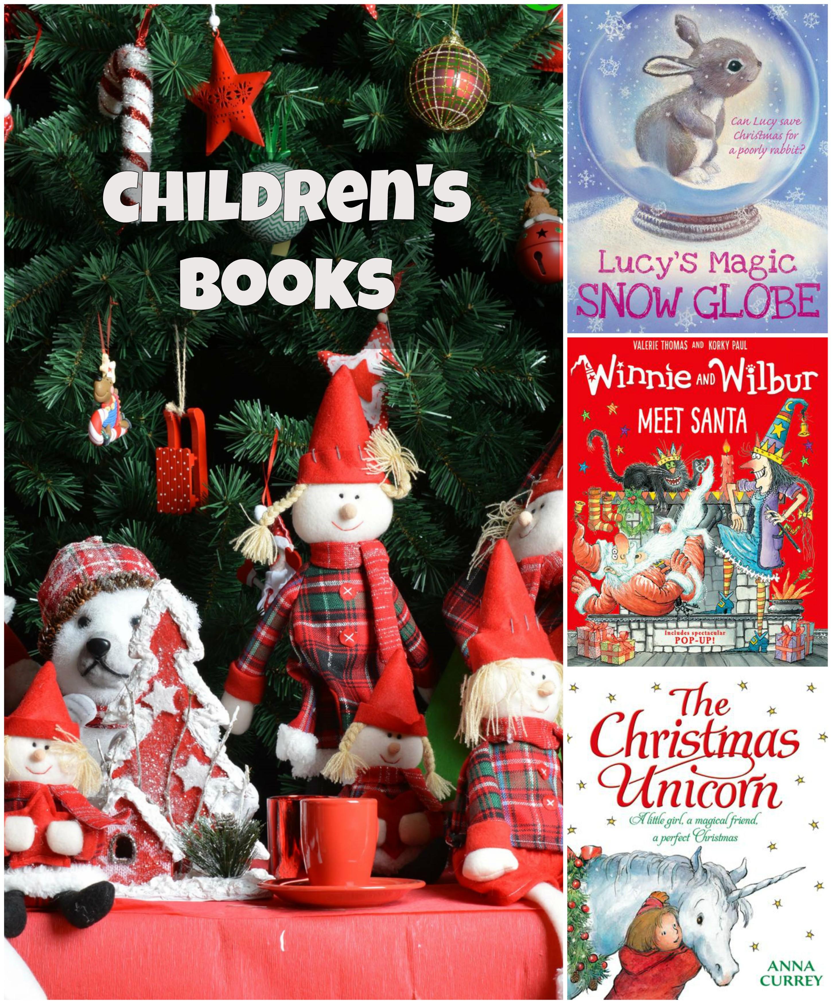 Karácsonyi gyermekkönyvek