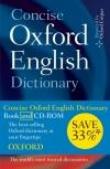 Concise Oxford English Dictionary Book/Cd-Rom Set * 2009