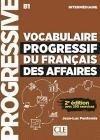 Vocabulaire Progressif Du Francais Des Affaires+Cd 3E 250 Ex