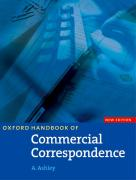 Oxford Handbook of Commercial Correspondence SB * New Ed
