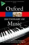 Oxford Concise Dictionary of Music * 6Th Ed.