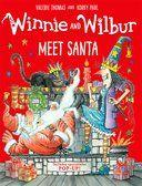 Winnie and Wilbur Meet Santa (Hardback)