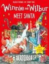 Winnie and Wilbur Meet Santa (Book + Audio Cd)