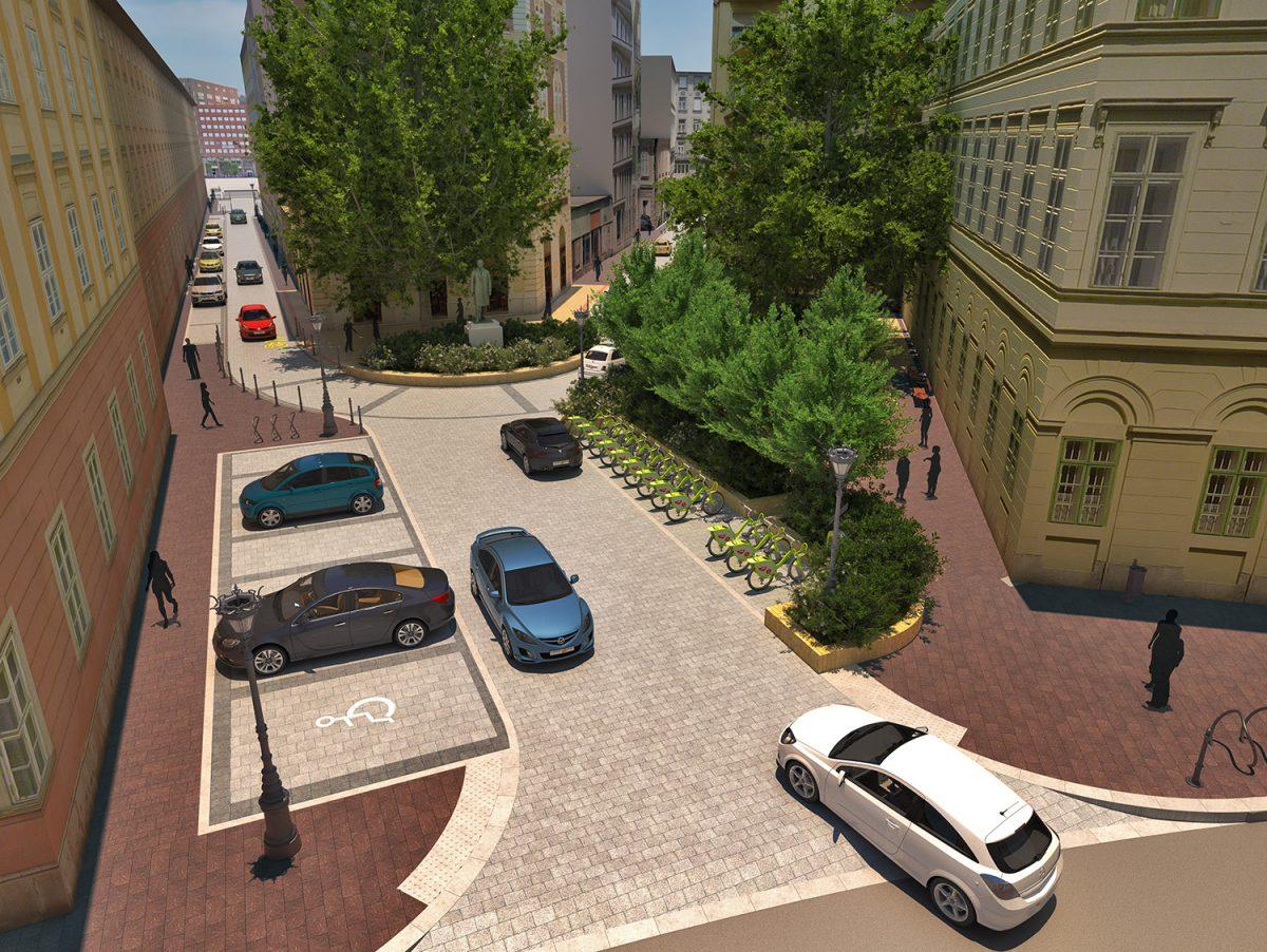 A Gerlóczy utca felújítása még zajlik!
