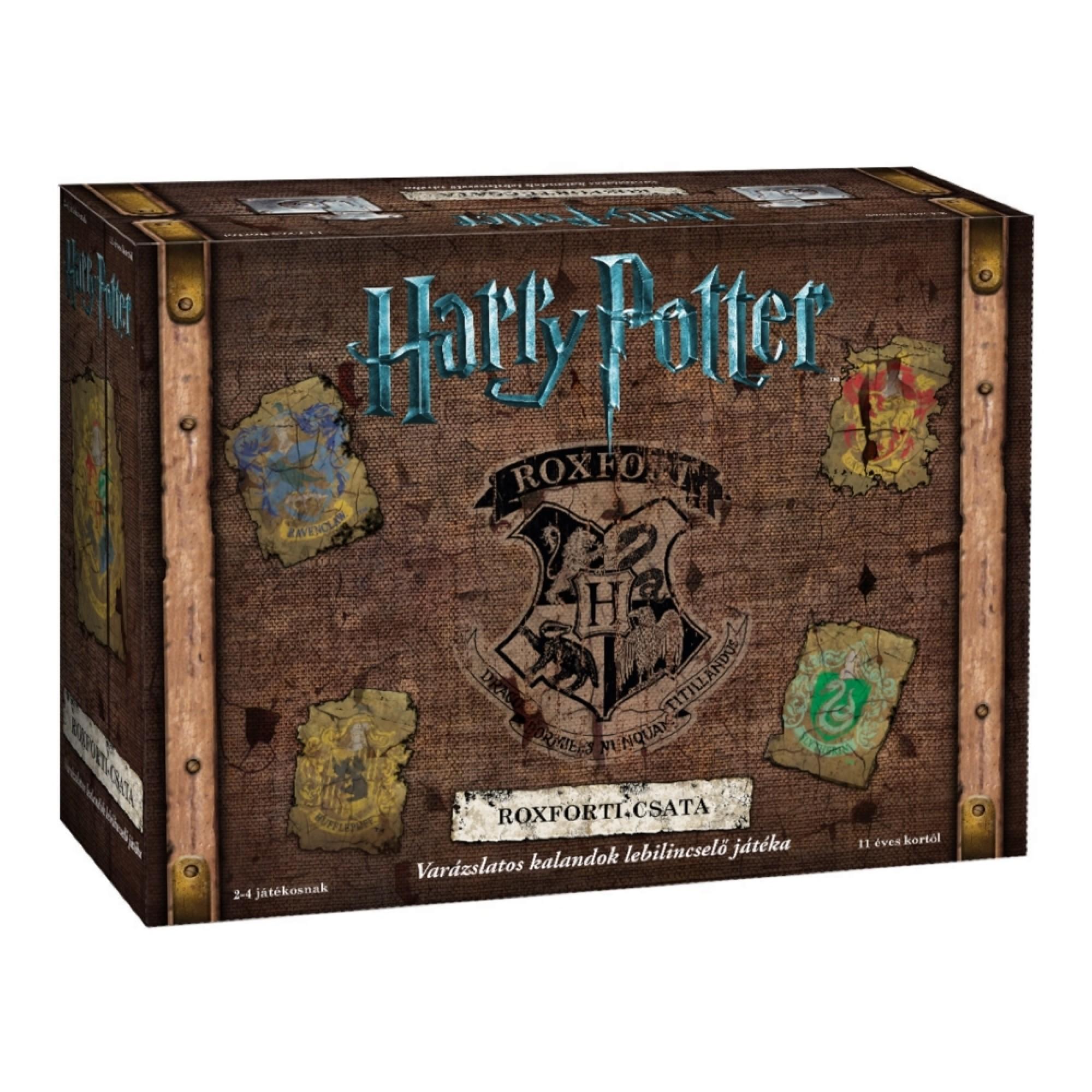Harry Potter- Roxforti csata társasjáték