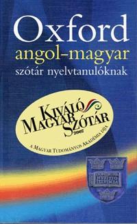 Oxford angol-magyar szótár és angol nyelvtan