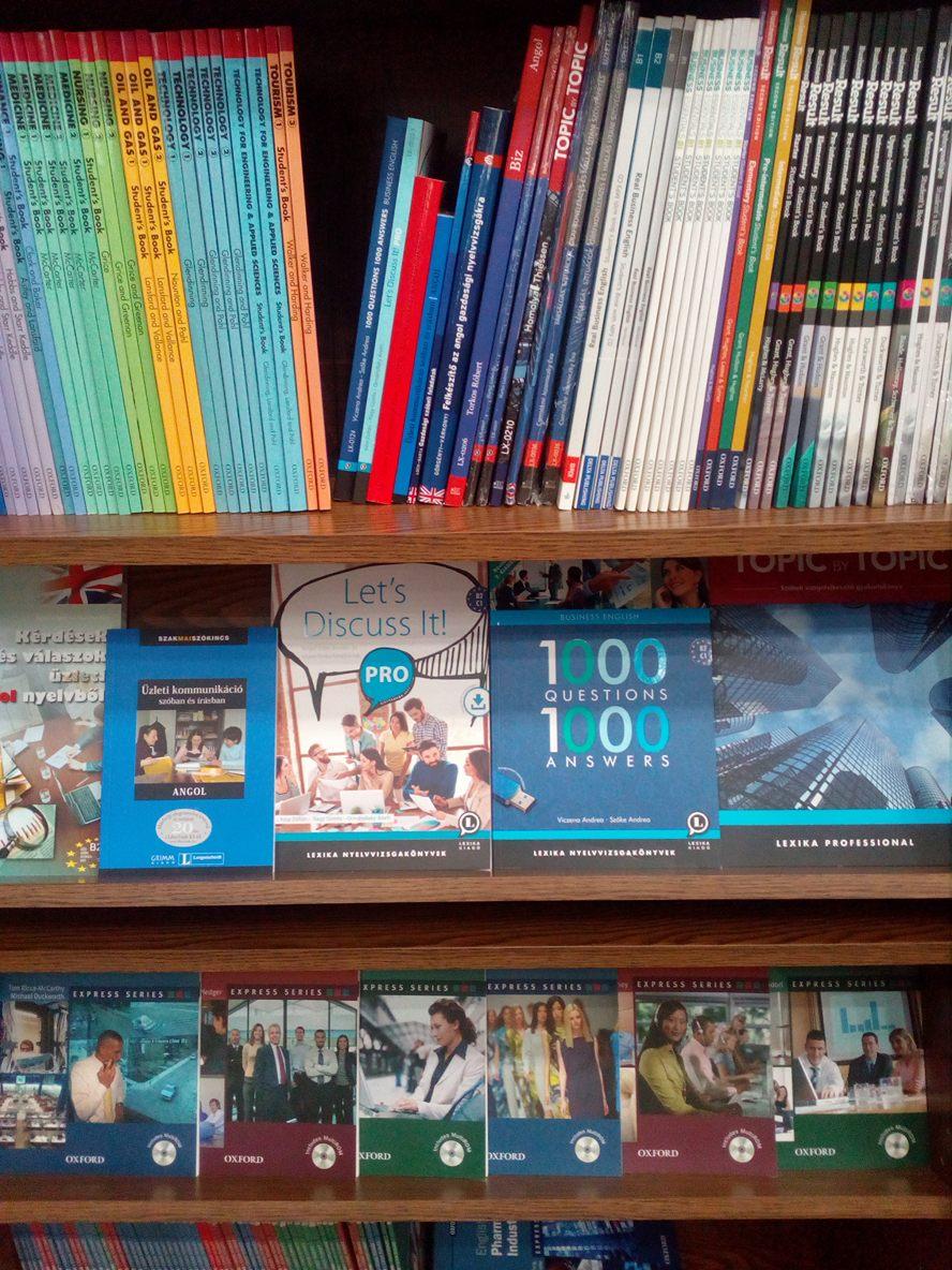 Angol üzleti nyelvkönyvek