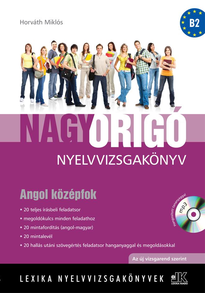 Megújult Origó angol vizsgakönyvek