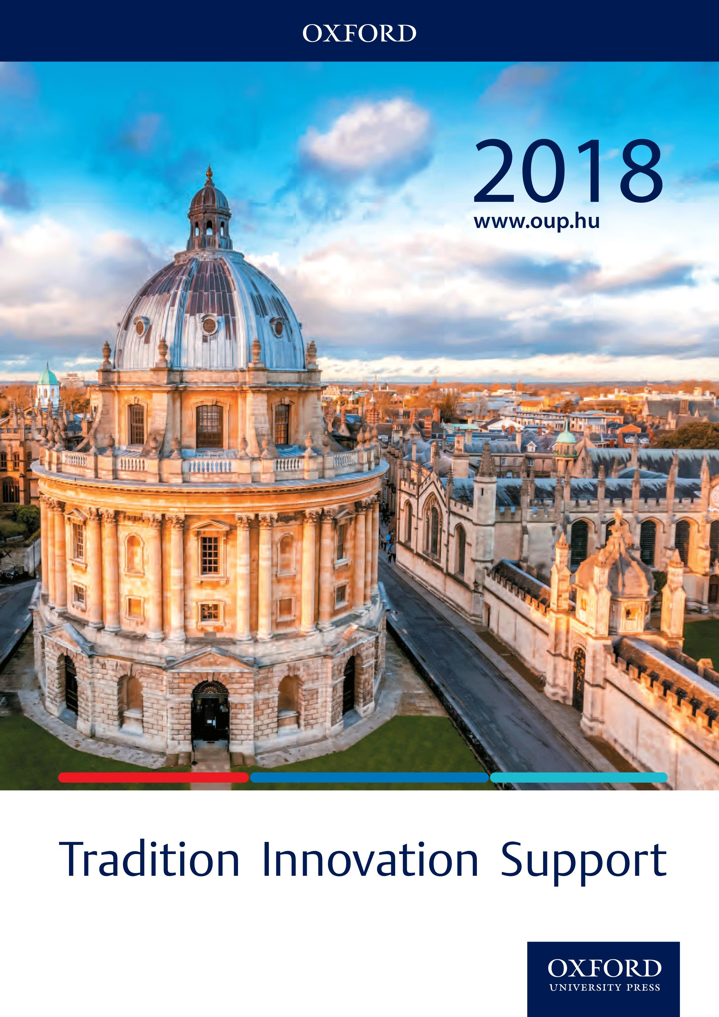 Az Oxford kiadó közoktatási tankönyvei a 2018/19-es tanévben